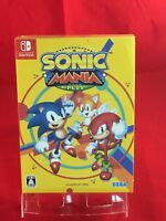 Sonic Mania Plus with Soundtrack CD Artbook - Switch Nintendo Japan import