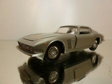 EDIL TOYS 12 ISO GRIFO BERTONE - SILVER 1:43 VERY RARE - VERY GOOD CONDITION