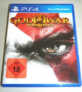 GOD OF WAR 3 REMASTERED (PlayStation 4) PS4 III DEUTSCH