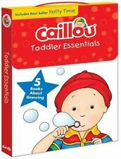 Caillou: Caillou - Toddler Essentials : 5 Books about Growing (2015, Book,...