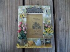 Artmark 3D Spring Garden Welcome Picture Photo Frame Collection Hand Crafted