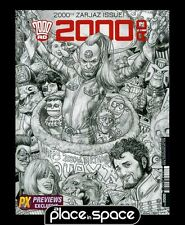 2000 AD PROG #2000 EXCLUSIVE B&W COVER 2ND PRINT