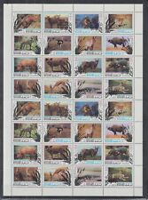 I813. Manama - MNH - Animals - Various - Full Sheet