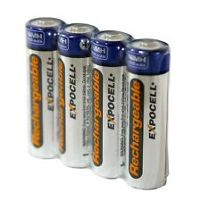 4x AA NiMH Rechargeable Batteries 2600 mAh 2.6Ah Pre-Charged mfg year 2017 NEW