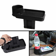 Car Interior Seat Slit Black Storage Drink Cup Holder Organizer Storage Pocket