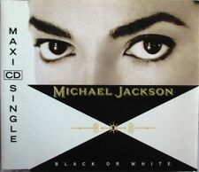 "MICHAEL JACKSON - MAXI CD ""BLACK OR WHITE"" - COMME NEUF"