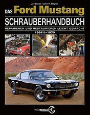 FORD MUSTANG SCHRAUBER-Handbuch Reparaturanleitung Reparatur/Buch Restaurierung