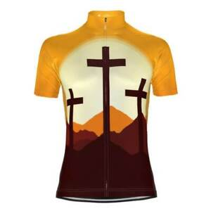 Three Cross Christian Faith Cycling Jersey