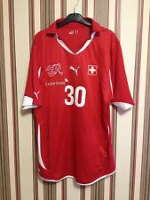 Switzerland 2010/11 National team Puma Jersey Soccer Home sz L