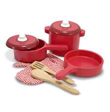 MELISSA and Doug Set accessori da cucina in legno - 12610-tutti i nuovi!