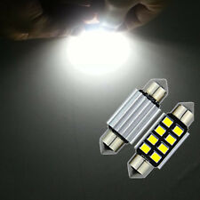 2x Super Bright 36mm 8-SMD Car Interior Dome Festoon LED Light Lighting Bulbs