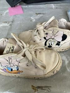 Zara Baby Minnie Mouse Shoes 24 (7uk)