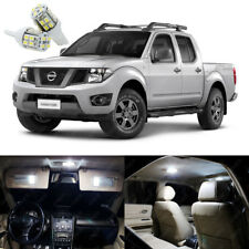 7 x Xenon White LED Interior Light Package Deal For Nissan Frontier 2005 - 2014