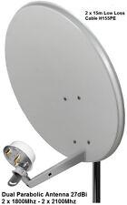 Doppia Banda Larga Mobile Antenna Huawei Aerial BOOSTER 27dBi E3276 1800-2600mhz