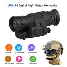 Professional 2x30 Infrared Digital Night Vision Riflescope Telescope For Helmet