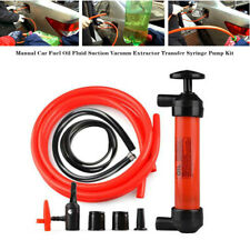 Manual Car Fuel Oil Fluid Suction Vacuum Extractor Transfer Syringe Pump System