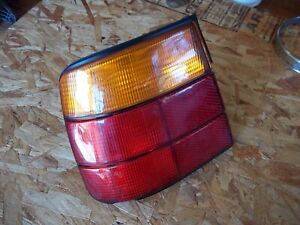 88-95 BMW 525i 530 Left Driver Side Brake Tail Light Lamp Trunk Signal Outer