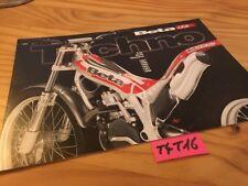 Beta Trial 125 250 Techno  brochure catalogue moto prospectus publicité prospekt