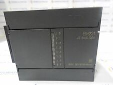 Siemens 6ES7221-1EF00-0XA0 SIMATIC S7-200 EM221 Digital Input, 8-Point, 120VAC