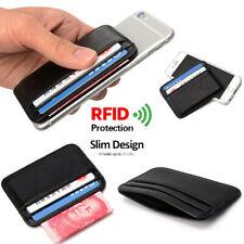 Minimalist RFID Blocking Leather Wallet Credit Card Slim Holder Money Pocket