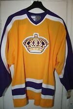 Vintage LA Kings jersey new with tags Large authentic with fight strap