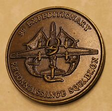 99th Expeditionary Reconnaissance Sq U2 NAS Sigonella Air Force Challenge Coin