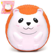 Jumbo Hedgehog Squishy Cute Animal Squishies Cream Scented Slow Rising Squeeze