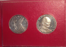 Pope Paulus VI - ANNO SANTO - TWO SILVER COINS 1975