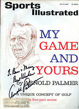 Arnold Palmer  signed  July 15, 1963 Sports Illustrated - Rare VG+