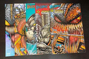 VIOLATOR VS BADROCK (1995 Image) -- #1 2 3 4 + Variant -- FULL Series