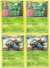 2x IVYSAUR +2x BULBASAUR - 2 EVOLUTION SETS DARK EXPLORERS Pokemon Card - MINT