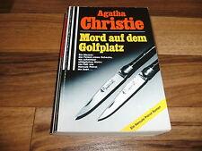 Agatha Christie -- MORD auf dem GOLFPLATZ / Hercule Poirot-Krimi 1. Auflage 1991