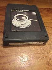 Willie Nelson / The Best Of Willie Nelson 8 Track Tape
