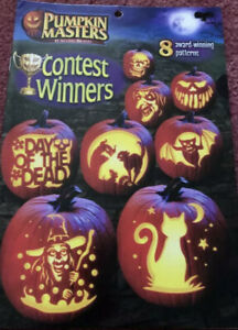 PUMPKIN MASTERS HTF Contest Winners 8 AWARD-WINNING PATTERNS New Sealed