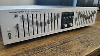 Harman Kardon EQ 8  Graphic Equalizer 10 Octave Excellent Condition WORKS +12db
