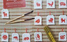 """""""Nouvel an chinois Zodiac Signes Motifs's cross stitch chart par Maria Diaz (226)"""