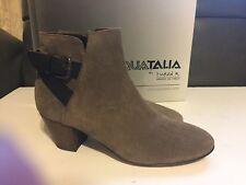 Women's Aquatalia Waterproof Suede Ankle Boots Size 8M