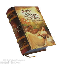 "Sueño de una noche  Verano William Shakespeare new collectible small 2.65"" book"