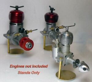 7 x Bespoke Hand made Model Engine Display Stands & Extra Parts for DC,Frog,ED