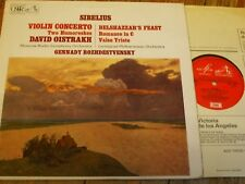 ASD 2407 Sibelius Violin Concerto etc. / Oistrakh / Rozhdestvensky / Moscow RSO