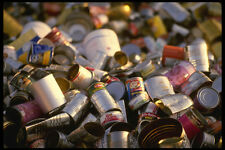 662018 Tin Cans A4 Photo Texture Print