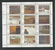 CANADA # 1027a MNH PROVINCIAL & TERRITORIAL LANDSCAPE SCENES Miniature Sheet