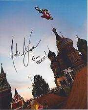 NATE ADAMS signed 8x10 Photo Motocross Racing X GAMES FMX FREE SHIPPING COA
