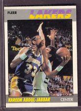 1987-88 Fleer Kareem Abdul-Jabbar #1