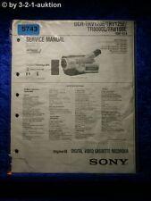 Sony Service Manual DCR TRV120E TRV125E TR8000E TR8100E Level 1 (#5743)
