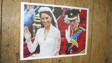 Prince William and Kate Royal Wedding Wave POSTER