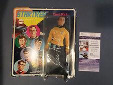 """1974 Mego 8"""" Captain Kirk Figure Signed by William Shatner JSA NICE"""