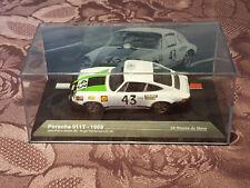 24 Heures du Mans Voiture 1/43 N°43 Porsche 911 T de 1968 Gaban Vanderschrick