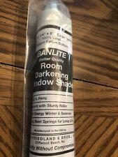 "New Window Shade Banlite Window Shade Roller WHITE 37 1/4"" x 72"""