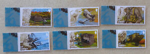 2015 JERSEY 100th ANNIVERSARY OF WWI SET OF 6 MINT STAMPS MNH